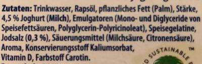 Sommerfrische - Ingredienti - de