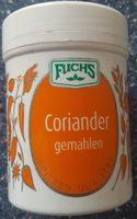 Coriander gemahlen - Product - de