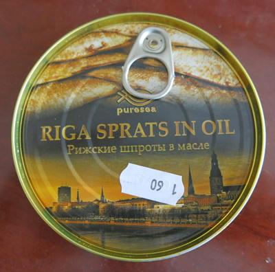 Riga Sprats fume in Oil - Product