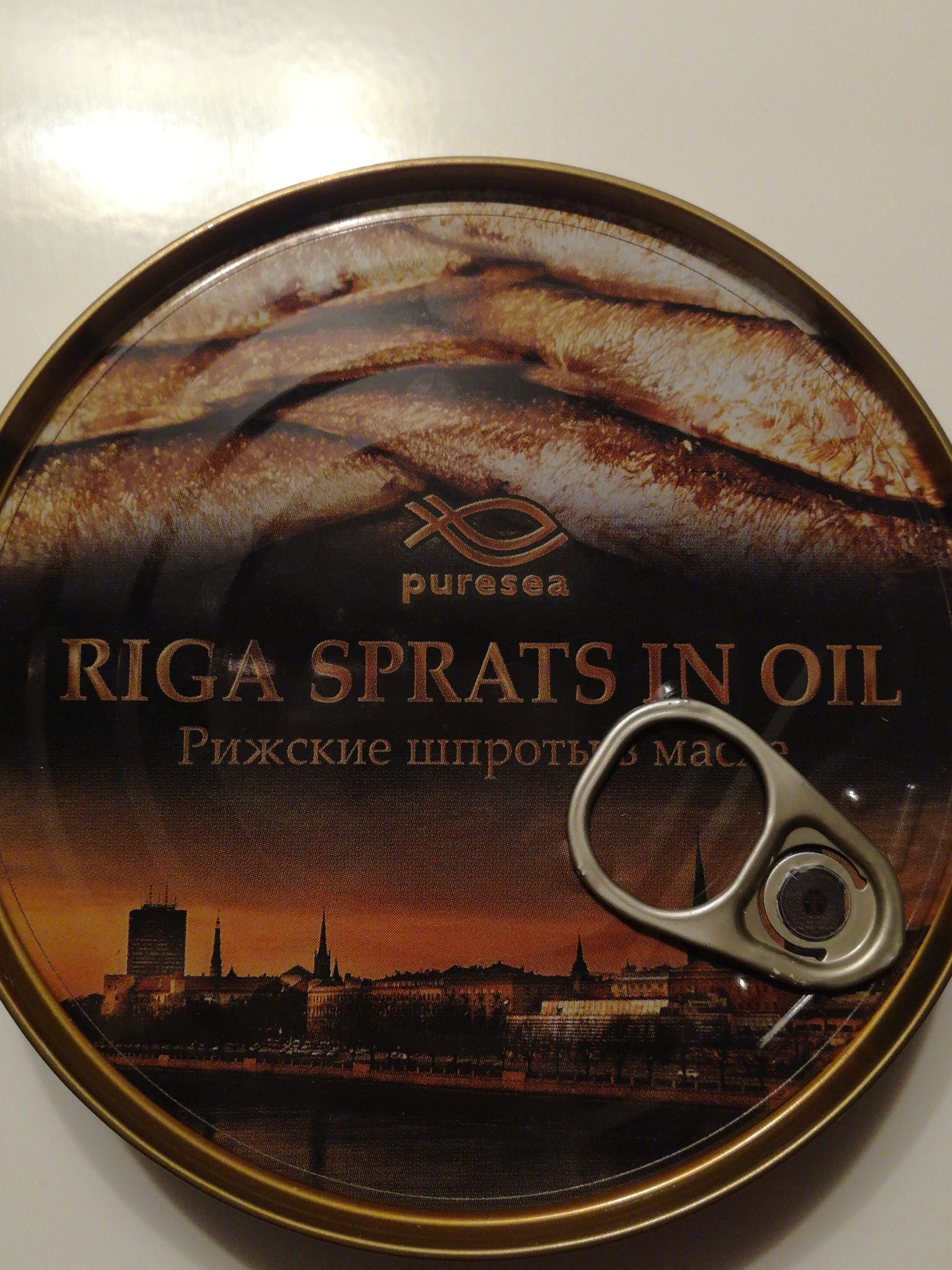 Riga Sprats fume in Oil - Ingrediënten