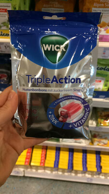 TripleAction Hustenbonbons - Product