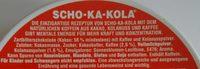 Scho-Ka-Kola - Ingredients