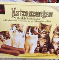 Kattetunger Mælkechokolade - Product