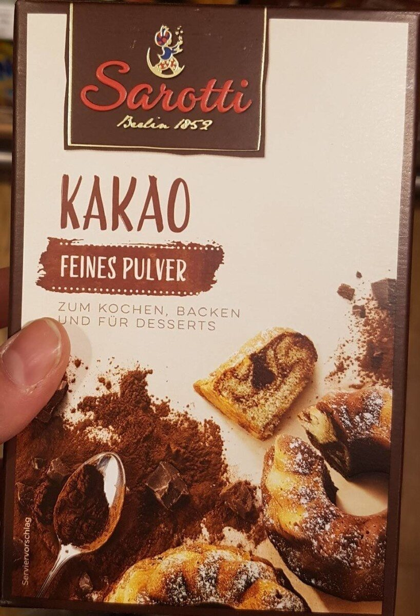 Sarotti Kakao - Prodotto - fr