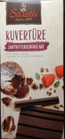Kuvertüre Zartbitterschokolade - Produkt - de