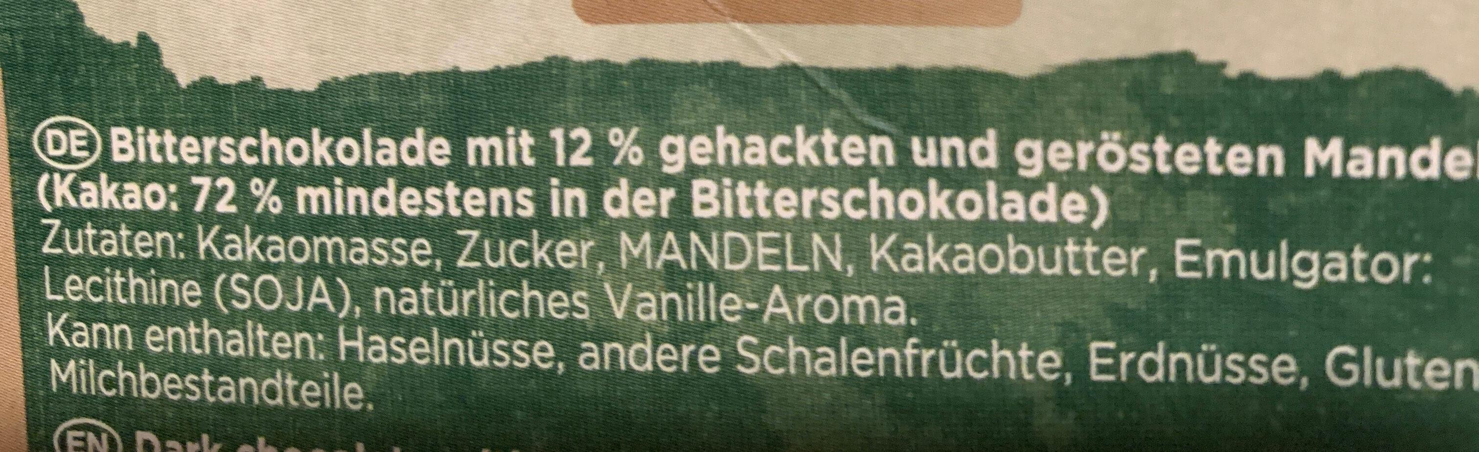 Chocolate - Ingrédients - de
