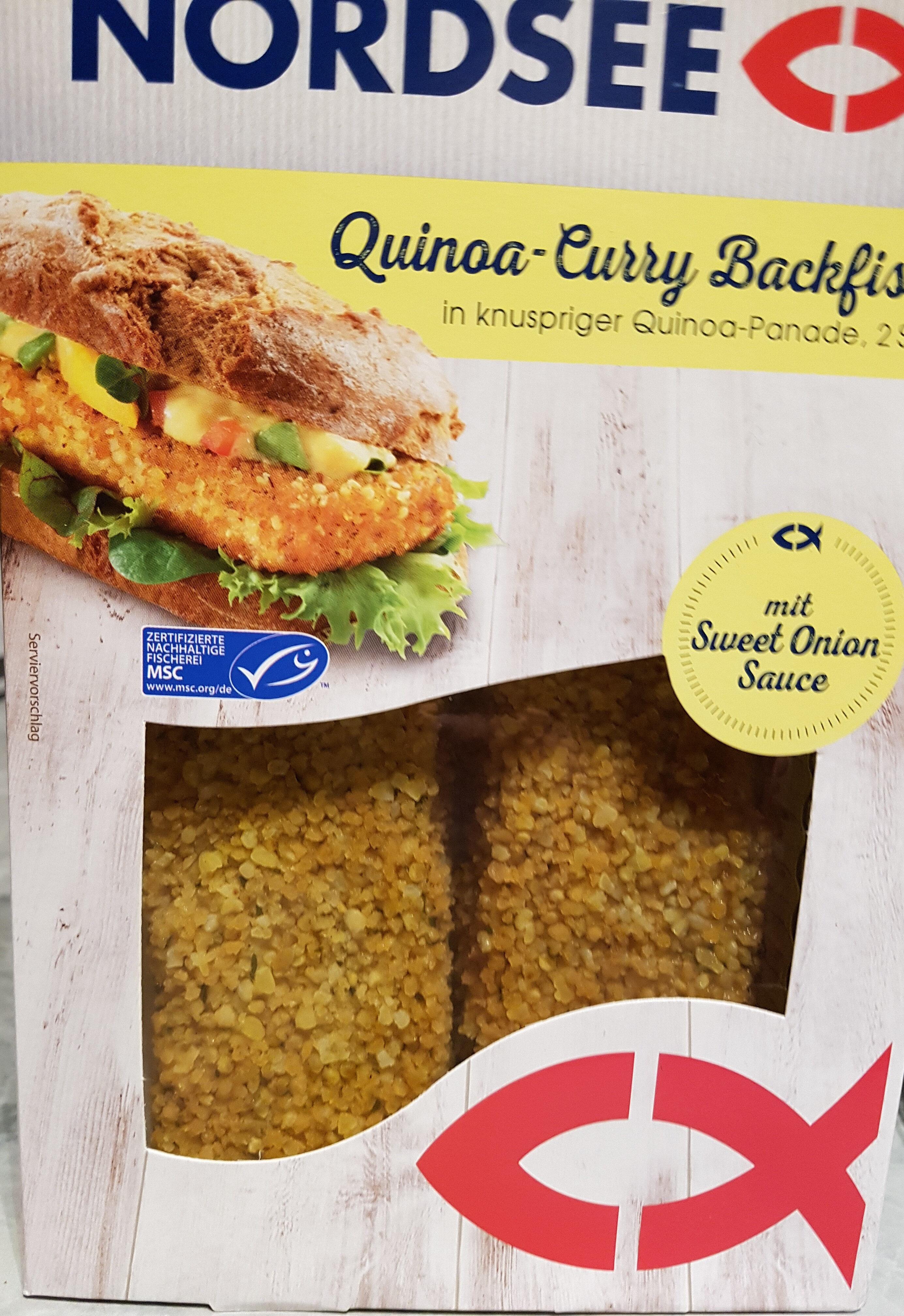 Quinoa-Curry Backfisch - Produkt