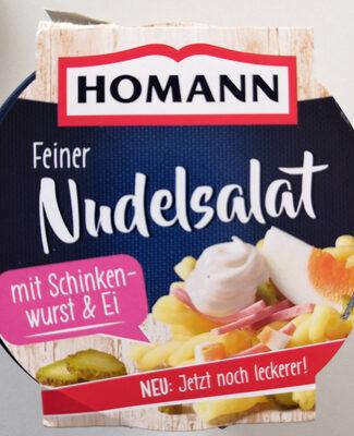 Feiner Nudelsalat mit Schinken und Ei - Produit - de