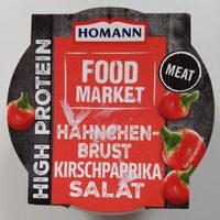 Hänchenbrust Kirschpaprika Salat - Product - de