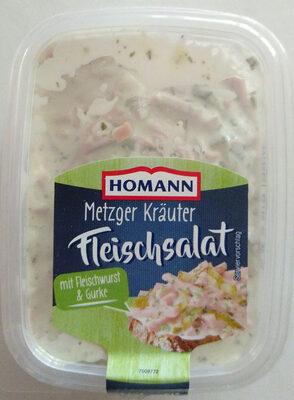 Metzger Kräuter Fleischsalat - Product - de