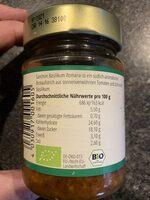 Brotaufstrich Basilikum Romana Südlich-Aromatisch - Informazioni nutrizionali