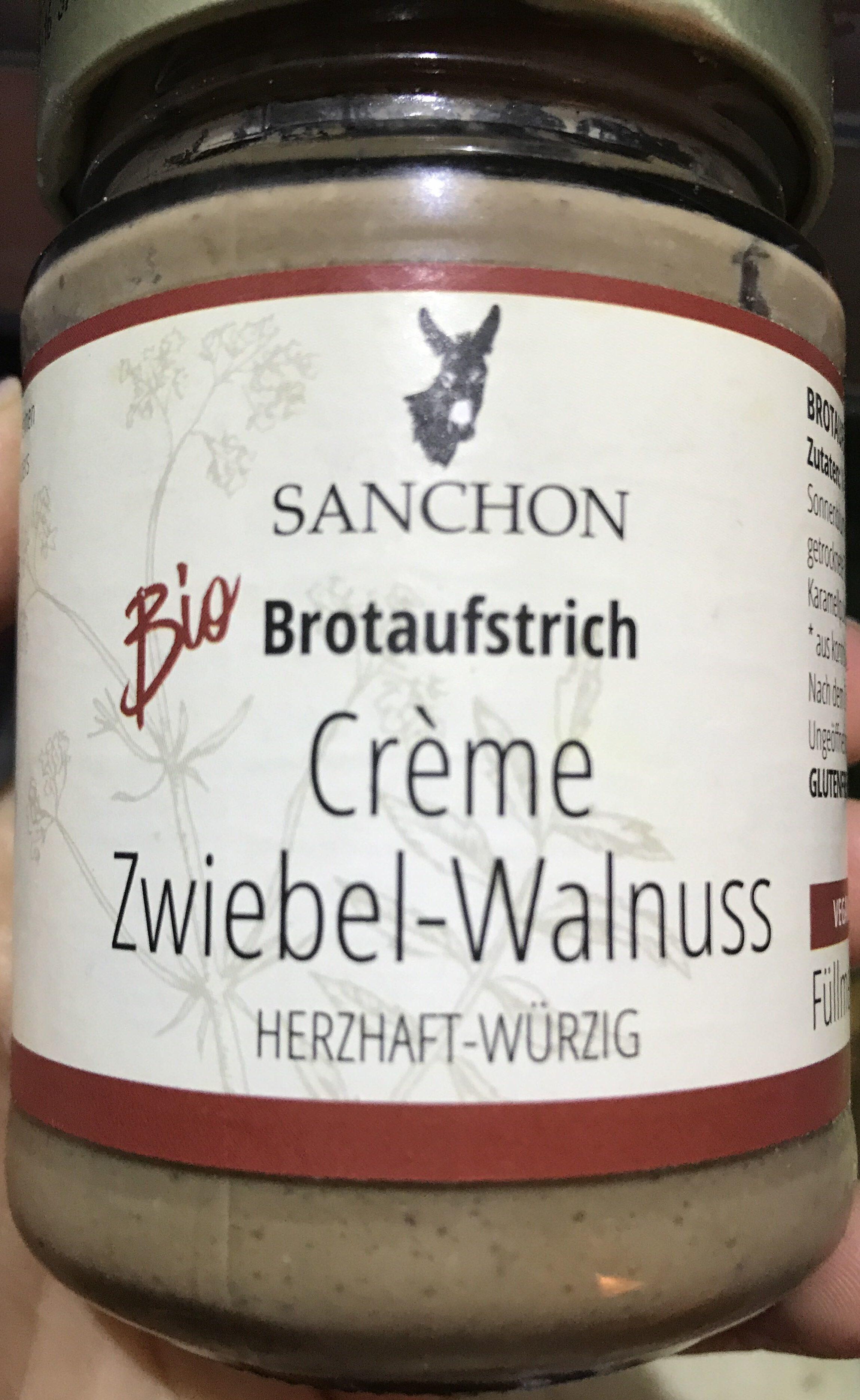 Crème Zwiebel-Walnuss - Produto