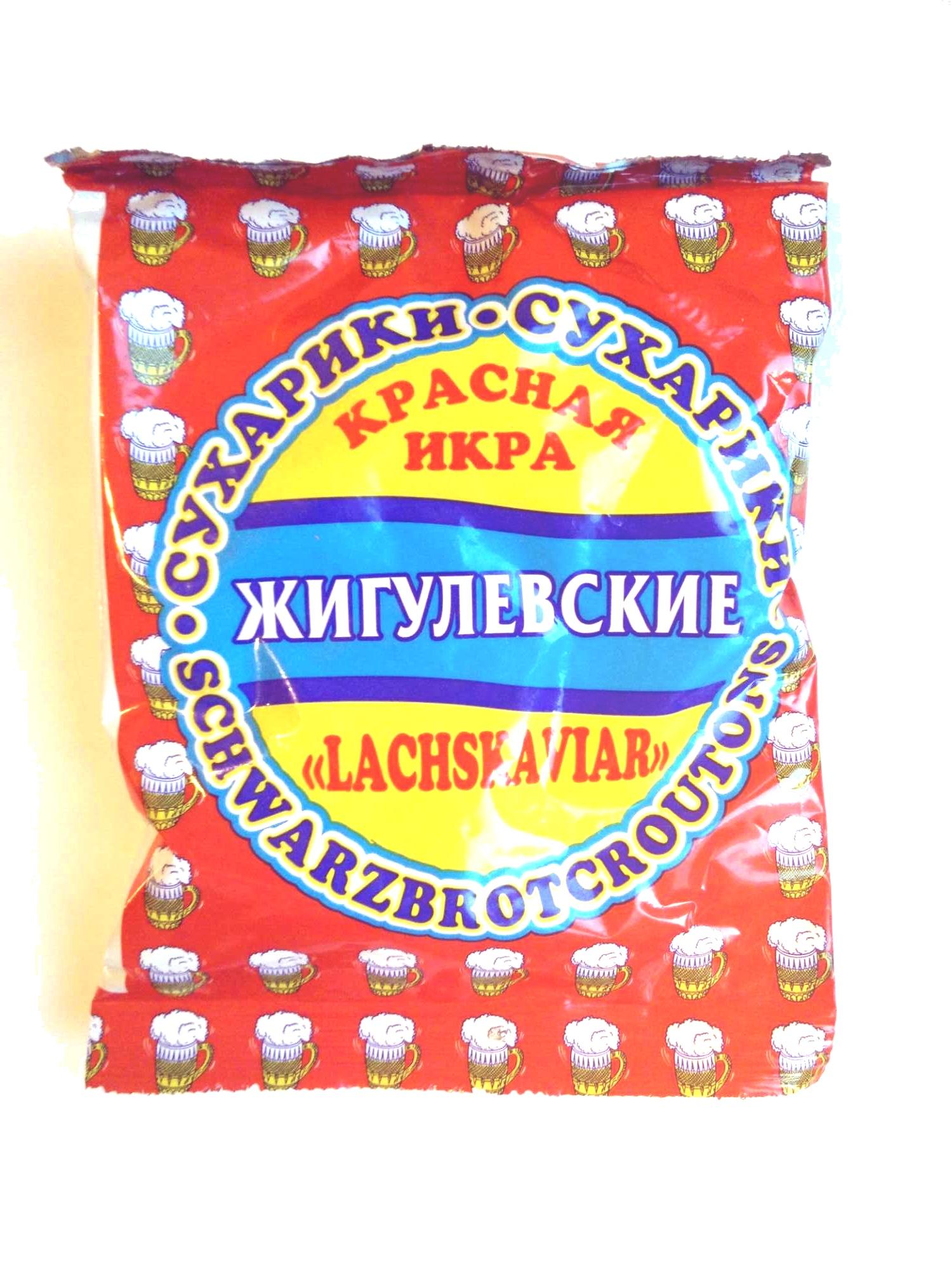 Сухарики Жигулевские - Продукт - ru