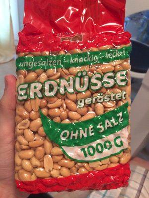 XOX Nuts Erdnüsse geröstet ohne Salz - Produit