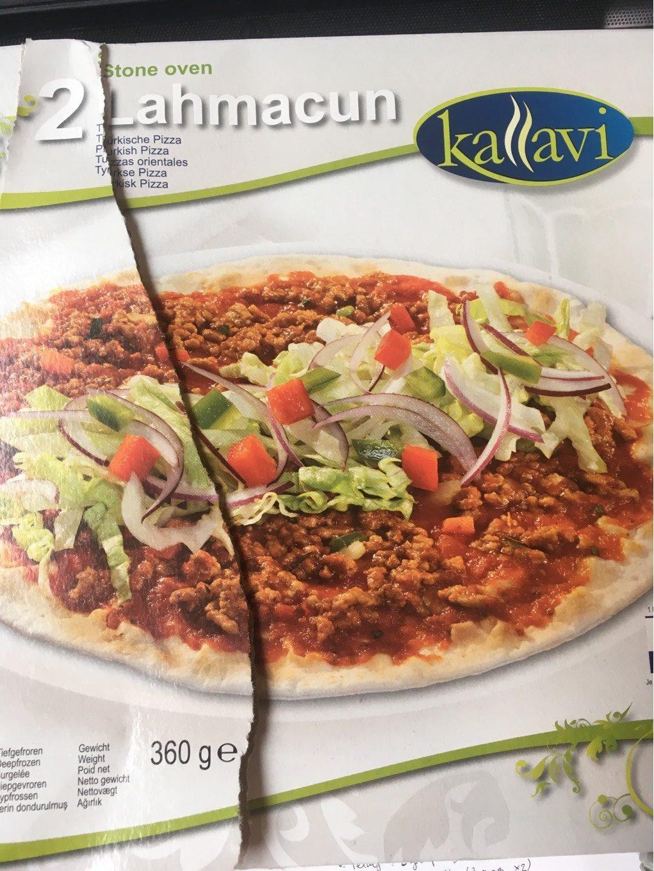 Kaliavi Stone Oven 2 Lahmacun Türkische Pizza, Tiefgefroren - Product