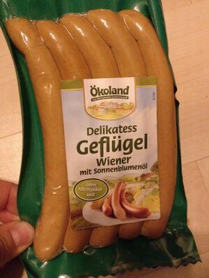 Delikatess Geflügel Wiener - Product