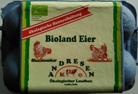 Bioland Eier - Produkt