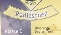 Radieschen Klasse I - Ingredients