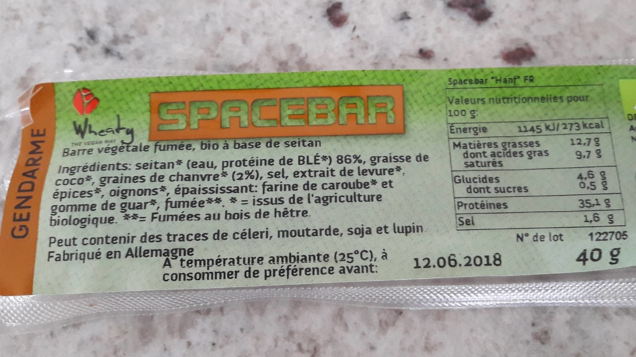 Space Bar - Product