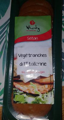 Wheaty végé'tranches à l'Italienne - Producto