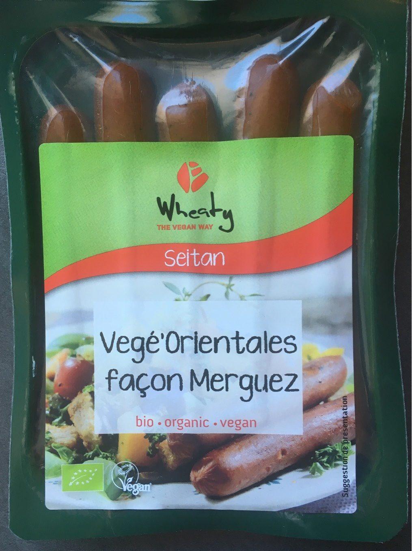 Seitan Vegansausage Merguez - Product