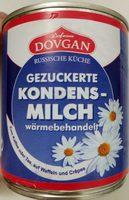 Gezuckerte Kondensmilch - Produkt
