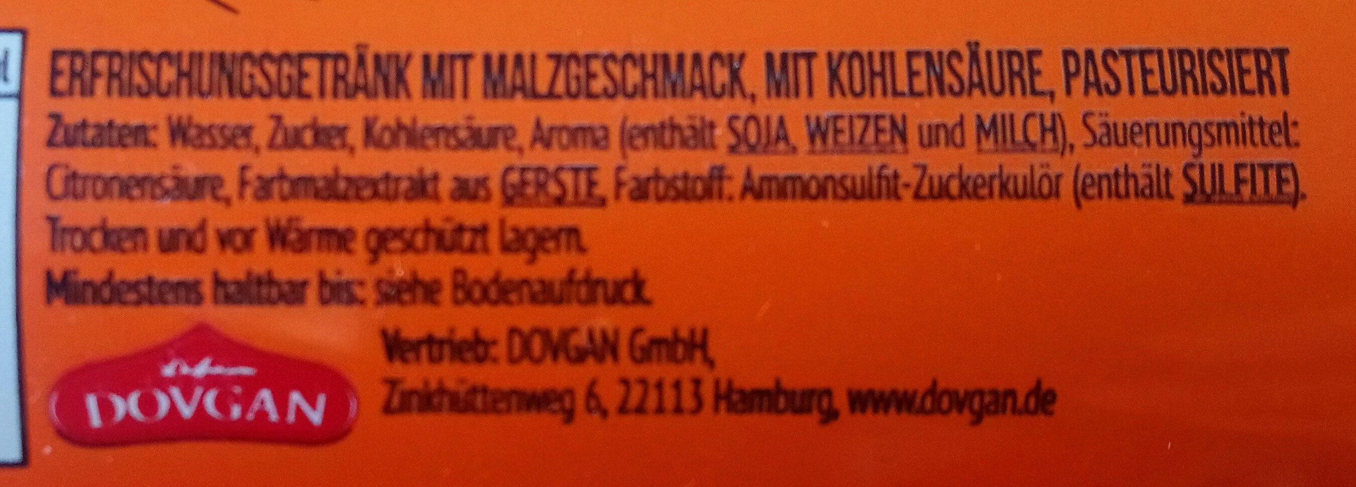 Moskowitsch Kwas - Ingredients - de
