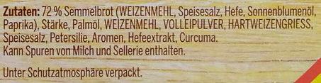 Semmel Knödel - Ingredients