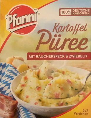 Kartoffel Püree mit Räucherspeck & Zwiebeln - Produit - en