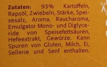 Rösti - Ingrediënten