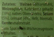 Kürbiskern Protein-Knäcke - Ingredients