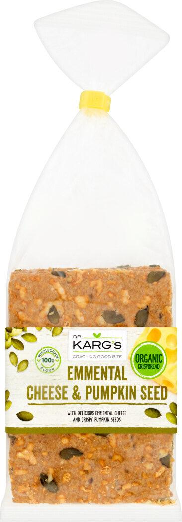 Karg's Organic Crispbread Emmental Cheese & Pumpkin Seed - Prodotto - de