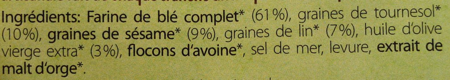 Classique 3-graines - Ingrediënten - fr