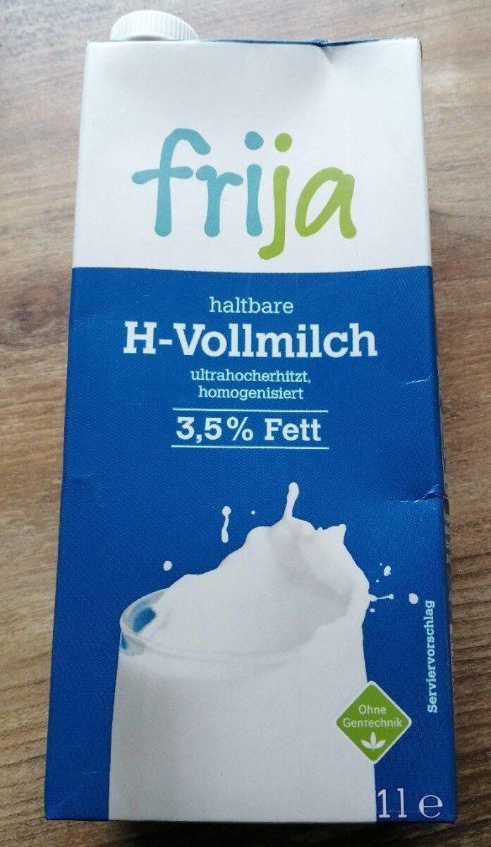 haltbare H-Vollmilch - Product - de
