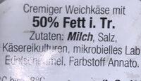 BauernRebell - Ingredients - de