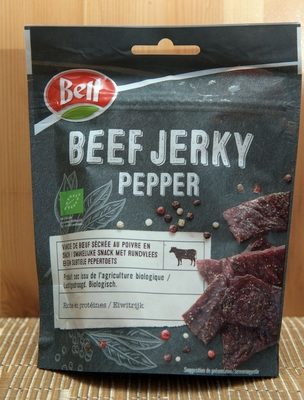 Beef Jerky Pepper - Product - fr