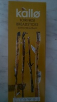 Kallo Torinesi Breadsticks with Parmesan - Product - en