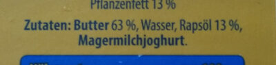 Streichzart - Ingredients - de