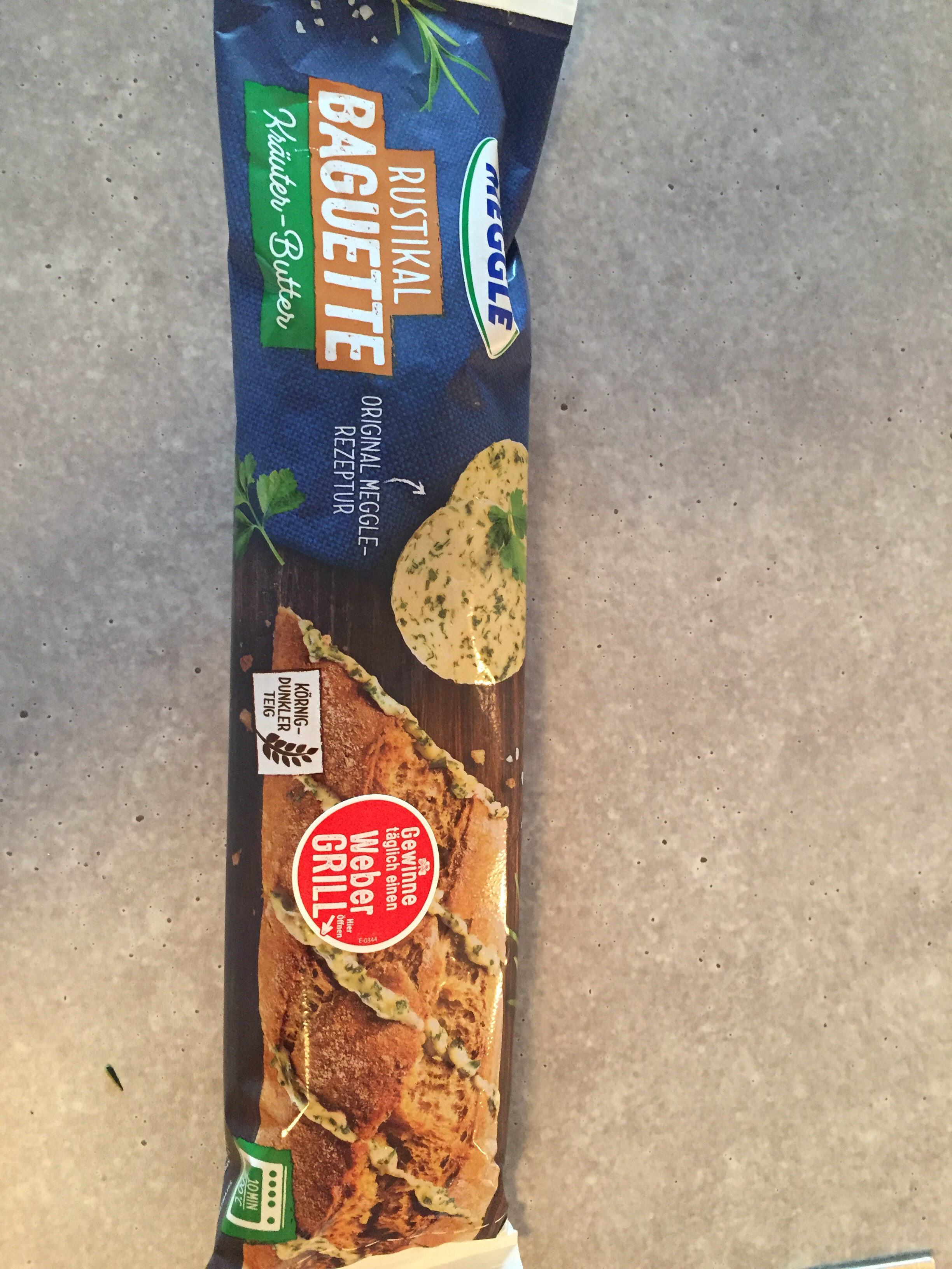 Rustikal Baguette Kräuter Butter - Product - de