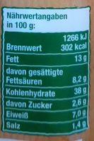 Baguette Beurre Aux Fine Herbes - Nährwertangaben