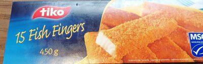 15 fish fingers - Produit - fr