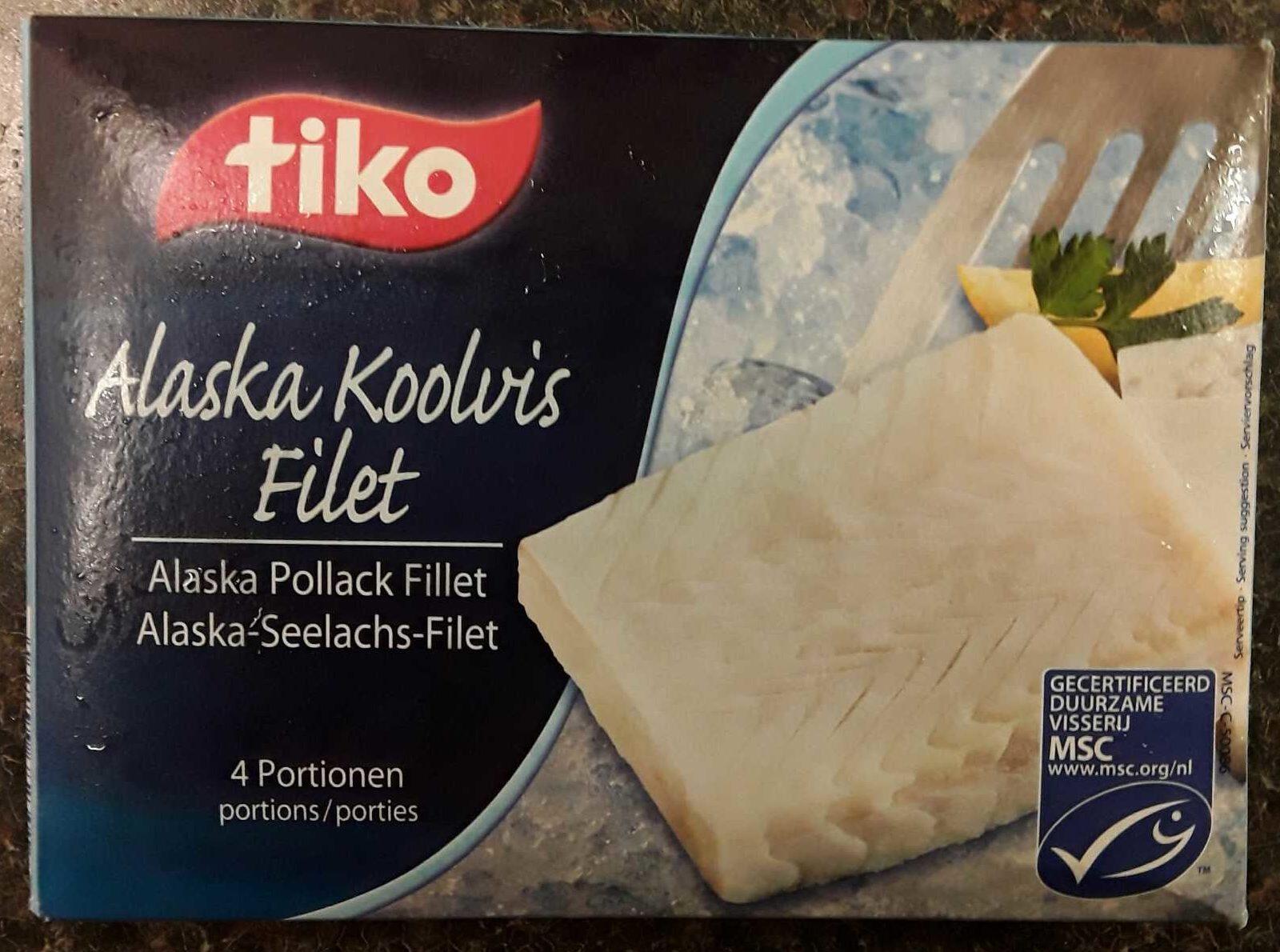 Alaska koolvis filet - Product - nl