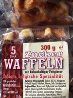 Zuckerwaffeln mit Schoko - Ingredients