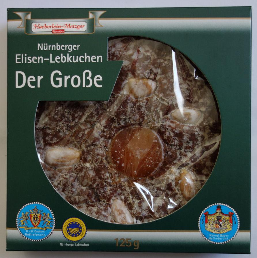 Nürnberger Elisen-Lebkuchen Der Große - Produkt - de