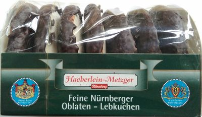 Feine Nürnberger Oblaten-Lebkuchen - Produkt