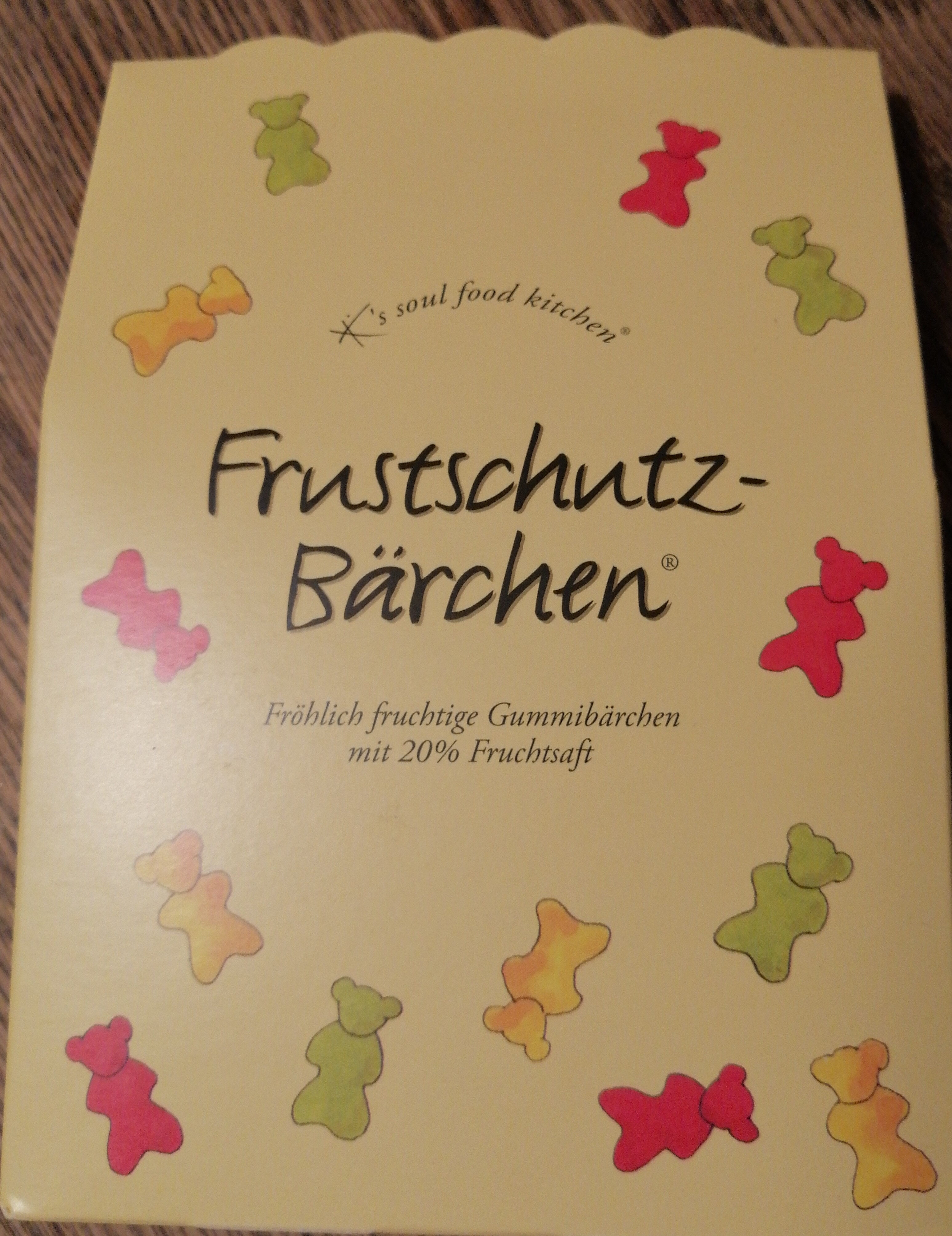 Frustschutz- Bärchen - Produit - de