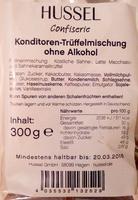 Konditoren-Trüffelmischung ohne Alkohol - Product - de
