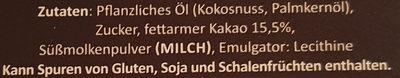 Belgische Kakao Truffets - Ingredients - de