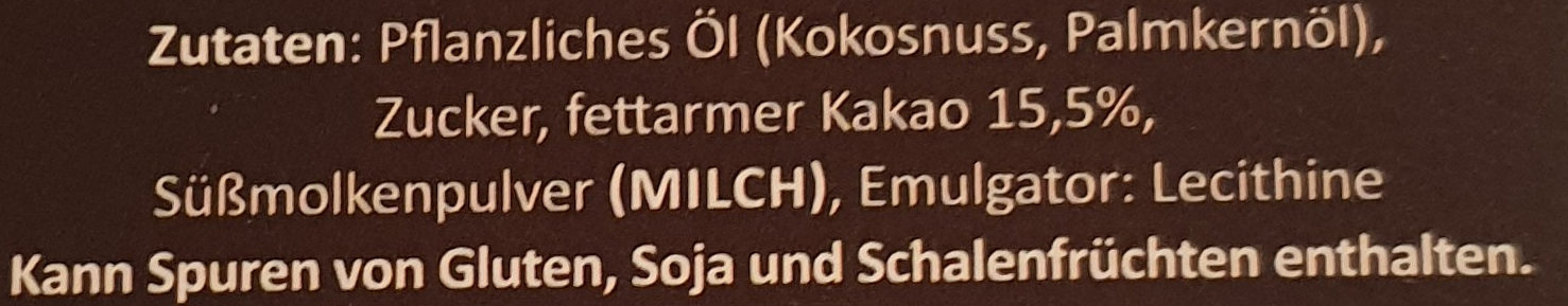 Belgische Kakao Truffets - Ingredients