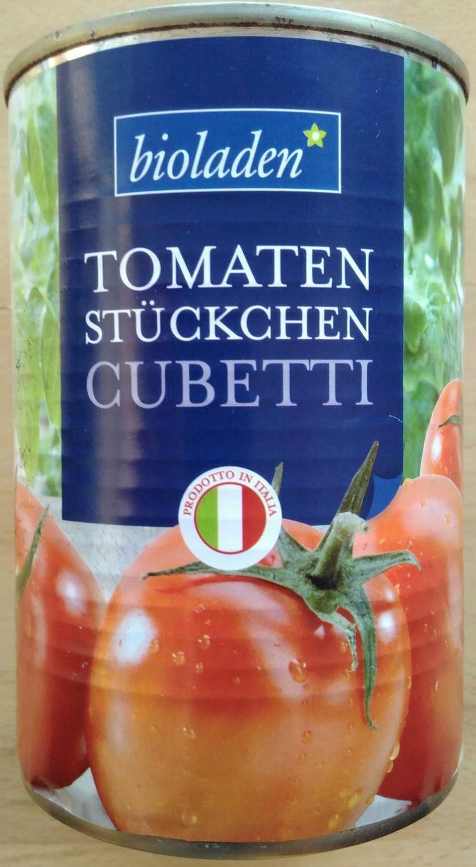 Tomaten Stückchen Cubetti - Produit